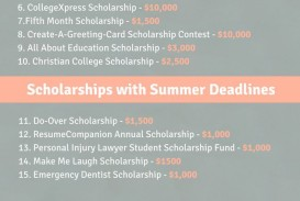 017 Essay Example Free Staggering Scholarships For High School Seniors Students 2019