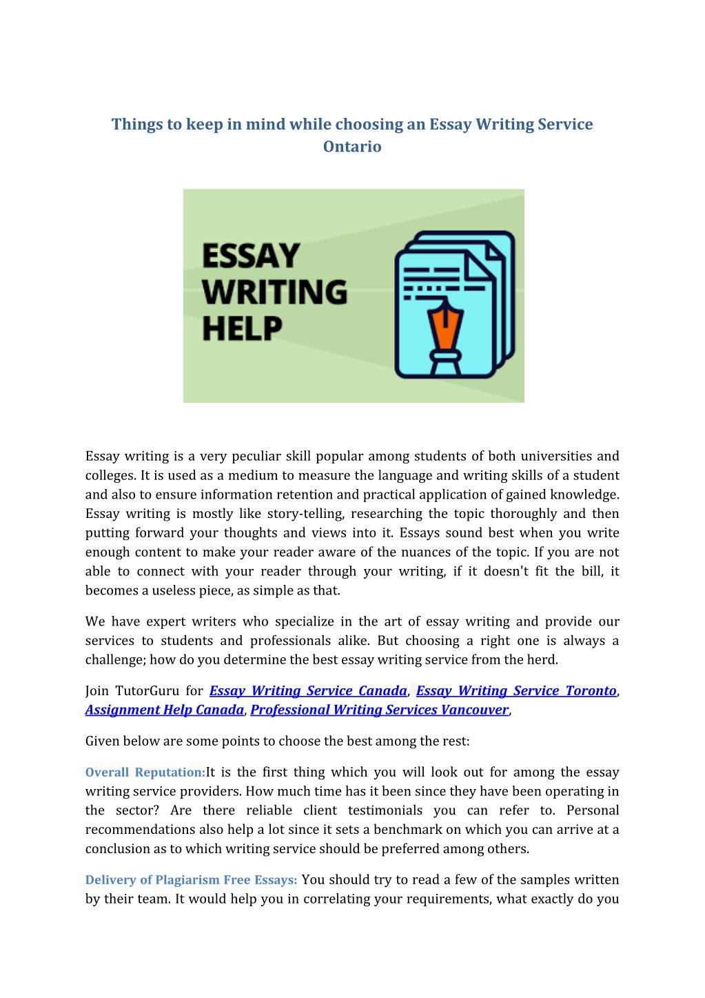 017 Essay Example Free Writing Service Things To Keep In Mind While Choosing An Shocking Draft Online Uk Full