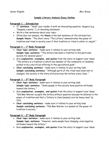 017 Essay Example How To Write Literary 008080369 1 Formidable A Good English Literature Introduction Conclusion Grade 4 360