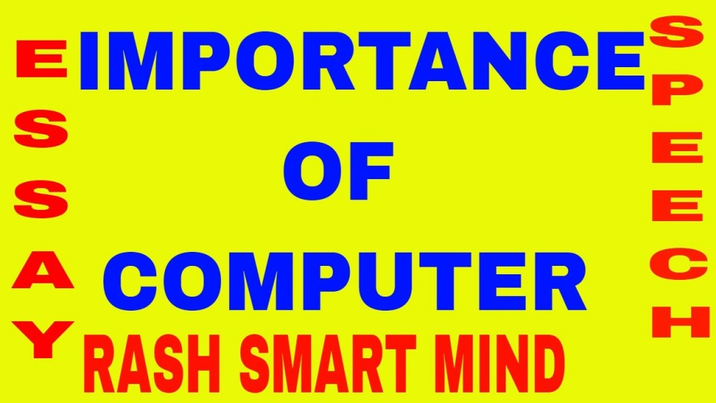 017 Essay Example Maxresdefault On Fearsome Computer Science In Hindi Urdu Large