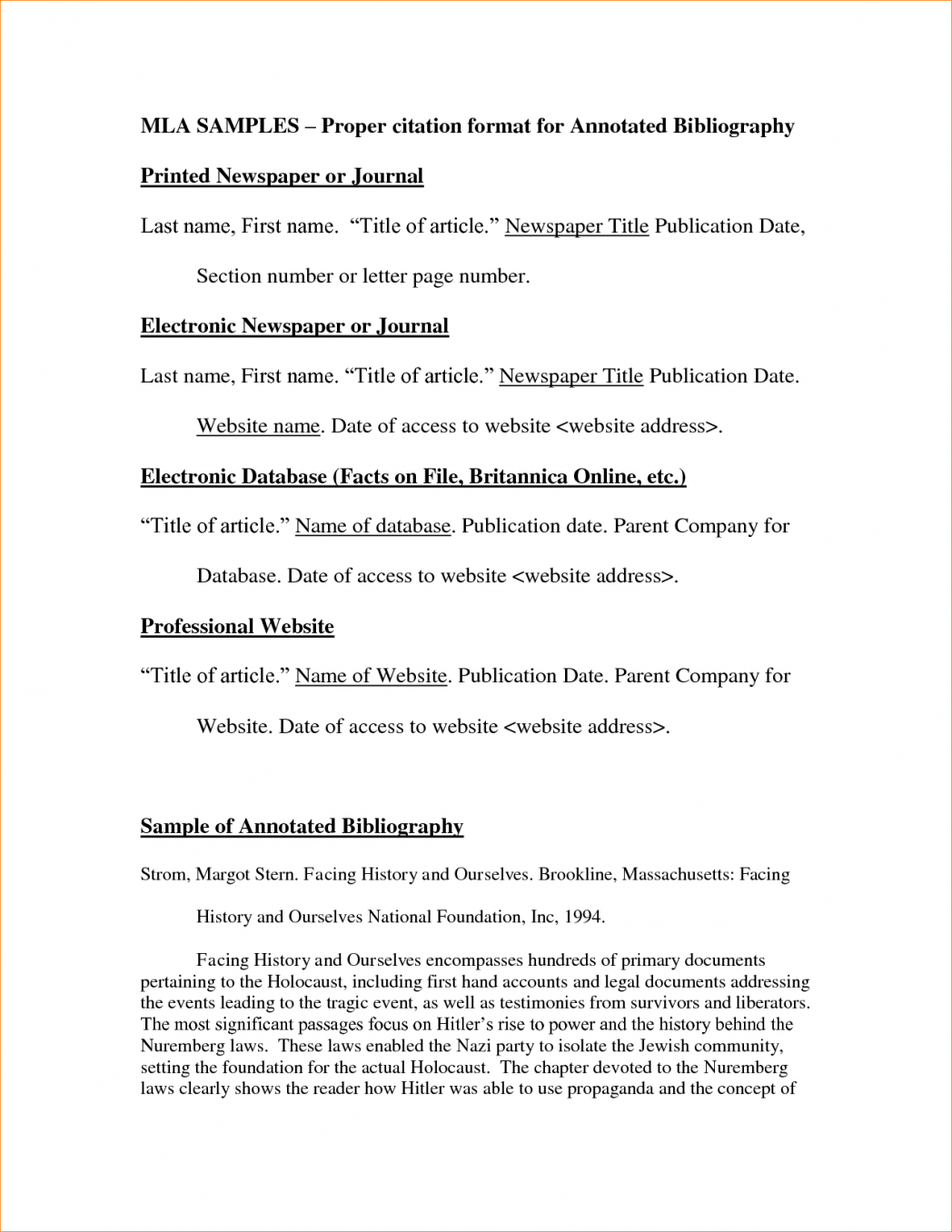 017 Essay Example Mla Format In Narrative Annotated Bibliography Template With Cover Page Title Works Cited Argumentative Persuasive Pdf 1048x1356 Beautiful Sample 2017 Comparison Full