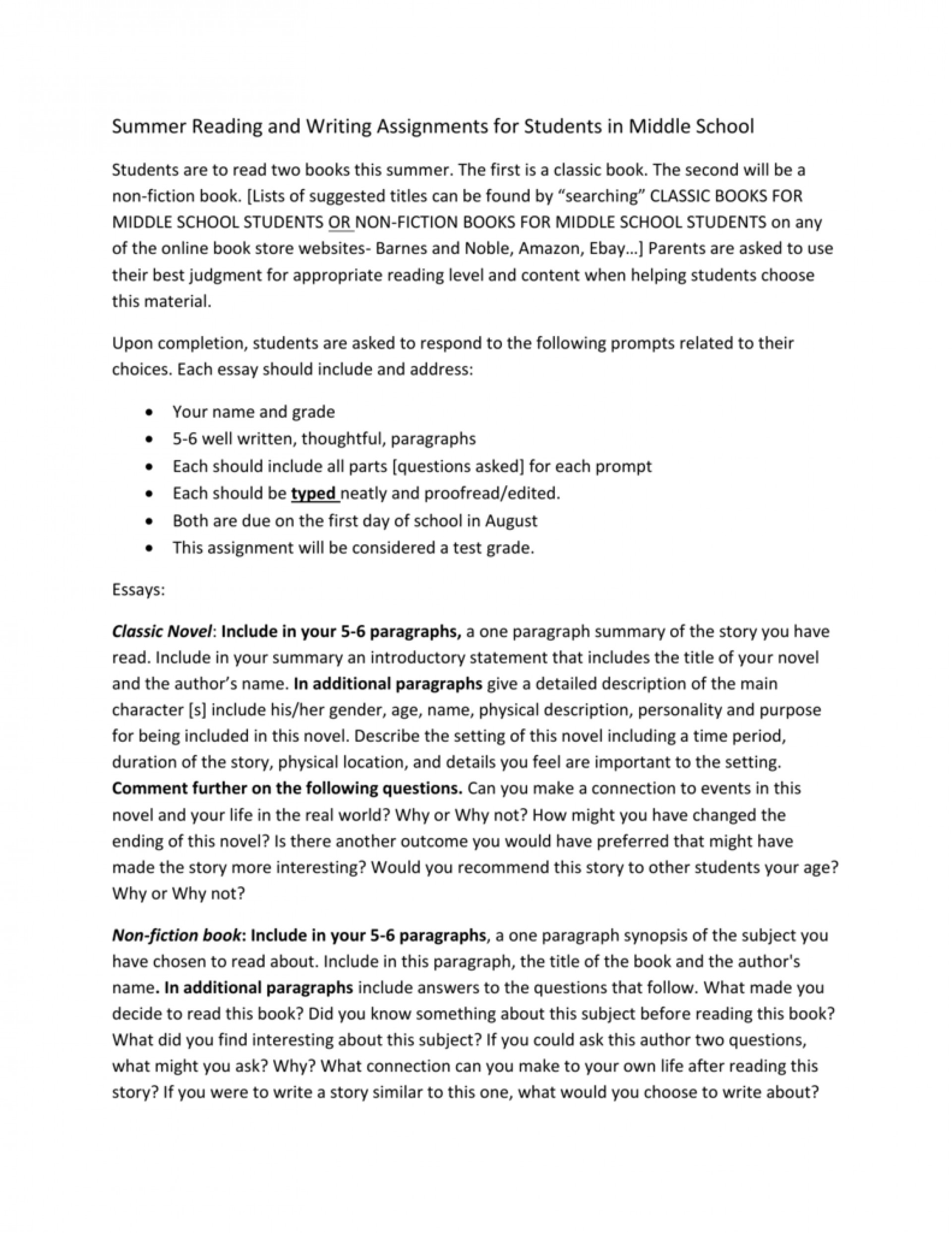 017 Essay Example Paragraph Writing Prompts Middle School 006993769 1 Incredible 5 1920