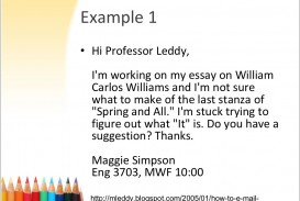 017 Essay Example Professor Slide Amazing Teaching College Writing On My In French