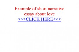 017 Essay Example Short Narrative 008851680 1 Fantastic Pdf About Life Topics