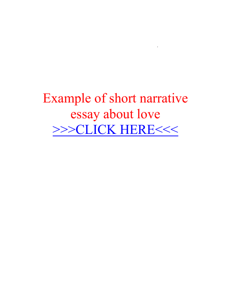017 Essay Example Short Narrative 008851680 1 Fantastic Pdf About Life Topics Full