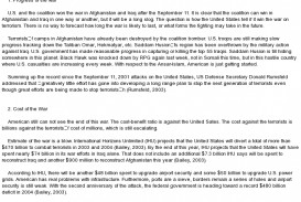 017 Essay Example Terrorism Essays Pustakalaya Sanskrit Writing Topic Will American Economy Benefit From The War Wonderful Topics In English On