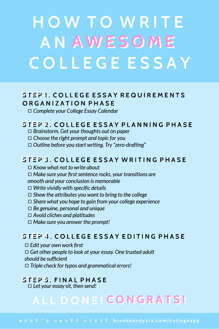 017 Essay Example Tips For Writing College Application Essays Fantastic Best Full