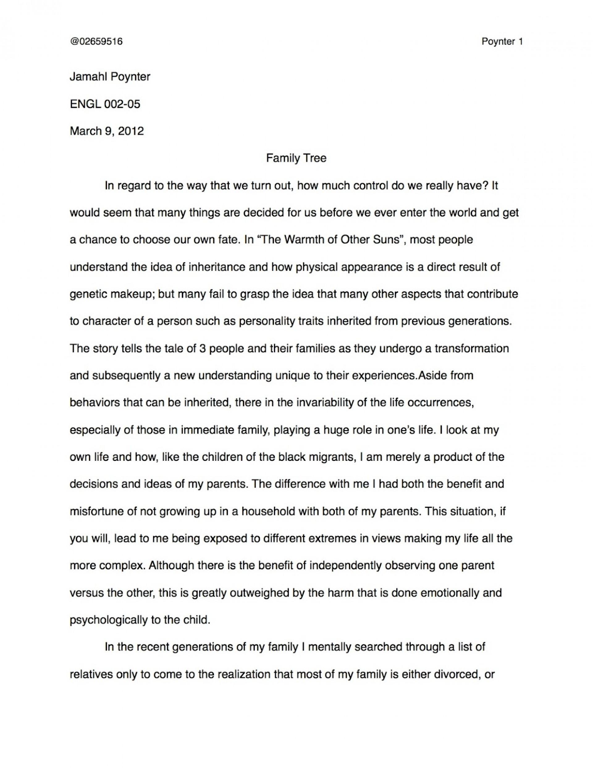 Unforgettable Tree Essay ~ Thatsnotus