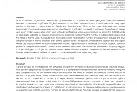 017 Essay In Spanish About School Example Unusual