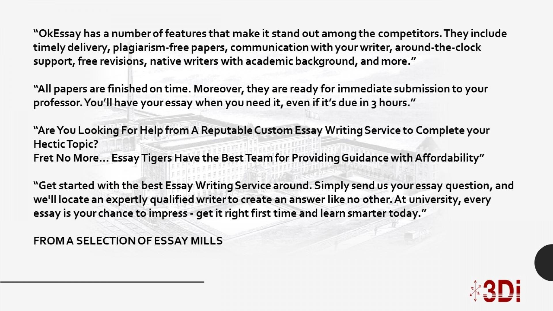 Essay mills legal