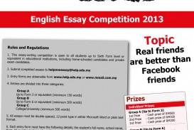 015 Essay Example Writing Contest ~ Thatsnotus