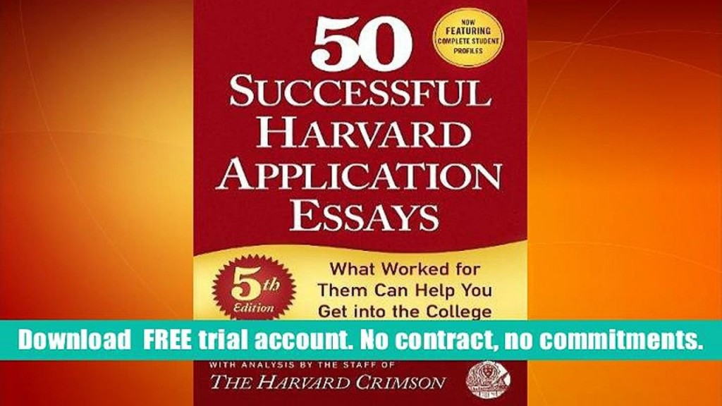 017 Essays 4th Edition Essay Example 1280x720 Phenomenal 50 Successful Harvard Application Pdf A Portable Anthology Answers Free Large