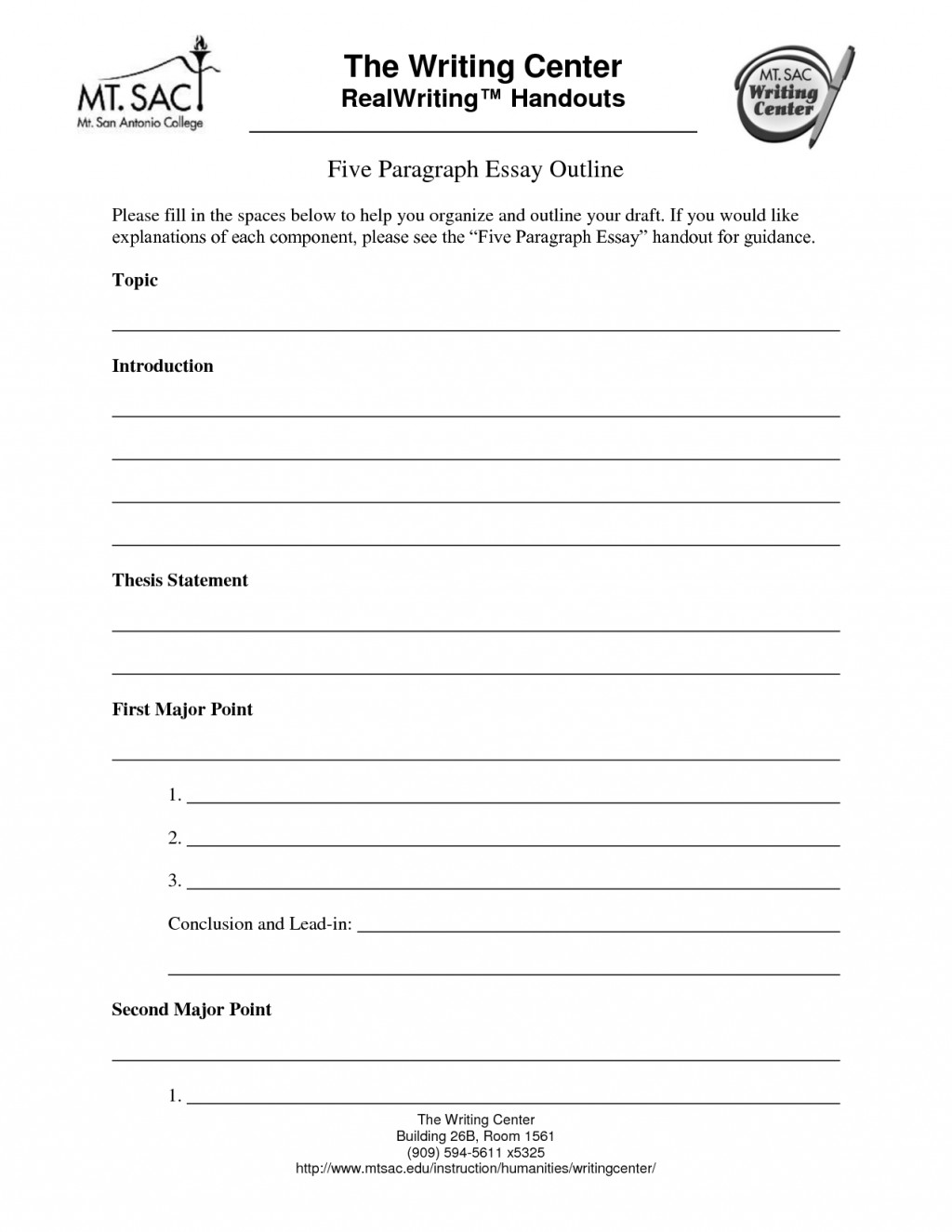 017 Five Paragraph Essay Outline Template 295989 Impressive 5 Printable Persuasive Large