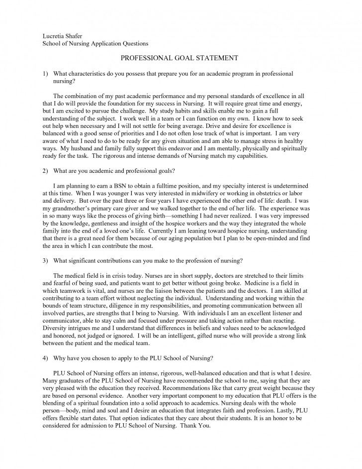 017 Goals Essay Graduate School Personal Statement Format Header Professional For L Awesome Mba Consulting Academic College Sample 728