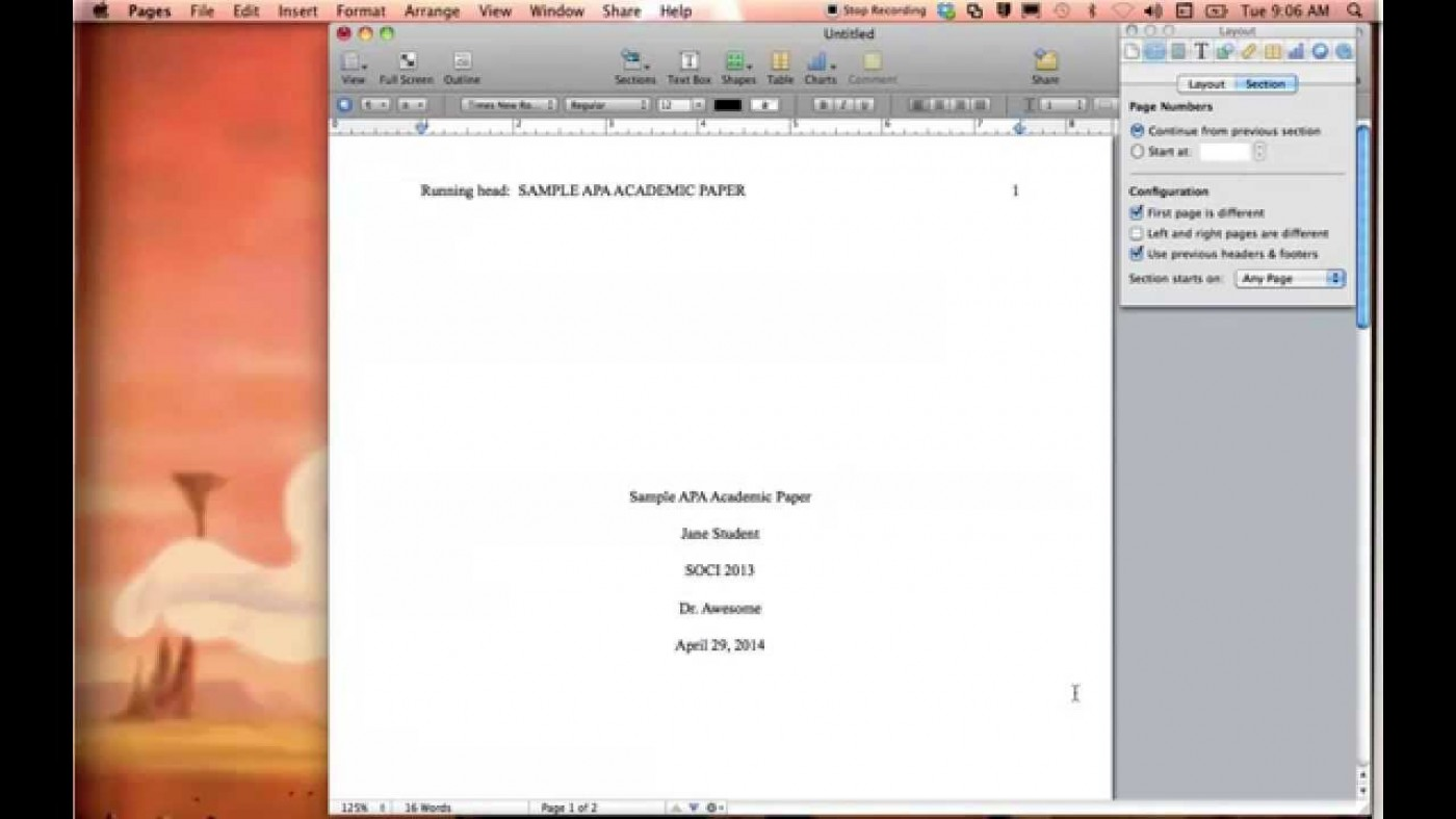 005 how to set up an essay mla format for microsoft word