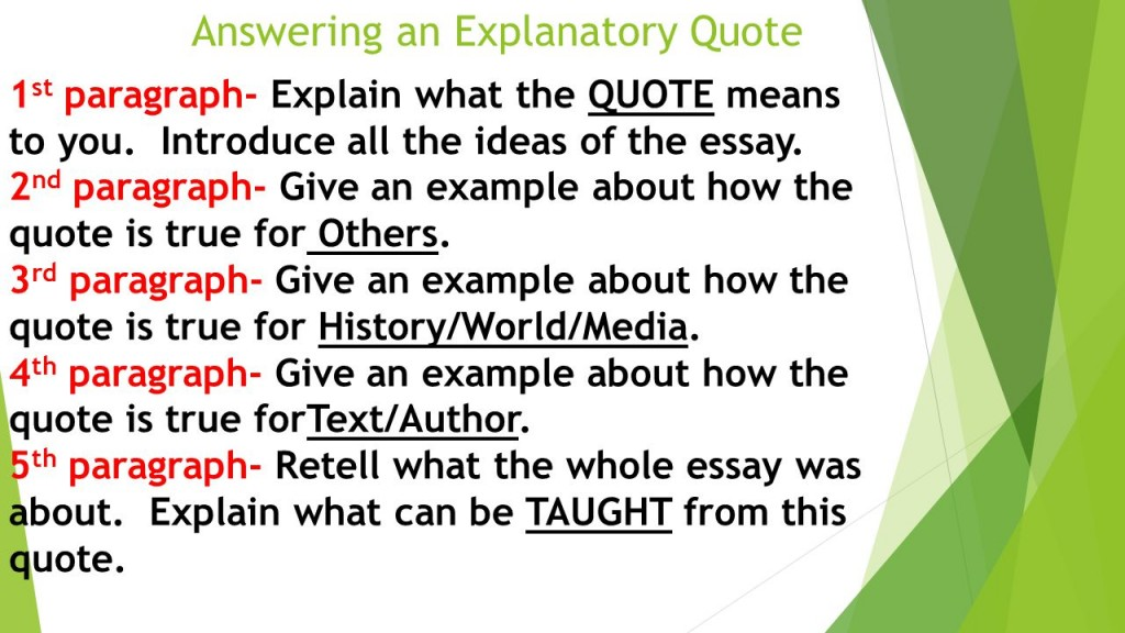 017 How To Use Quote In Essay Explaining An Makes Of Footnotes Sl Quotes Sources Tok Introduce Exceptional A Do You Block Put Introduction Analytical Large