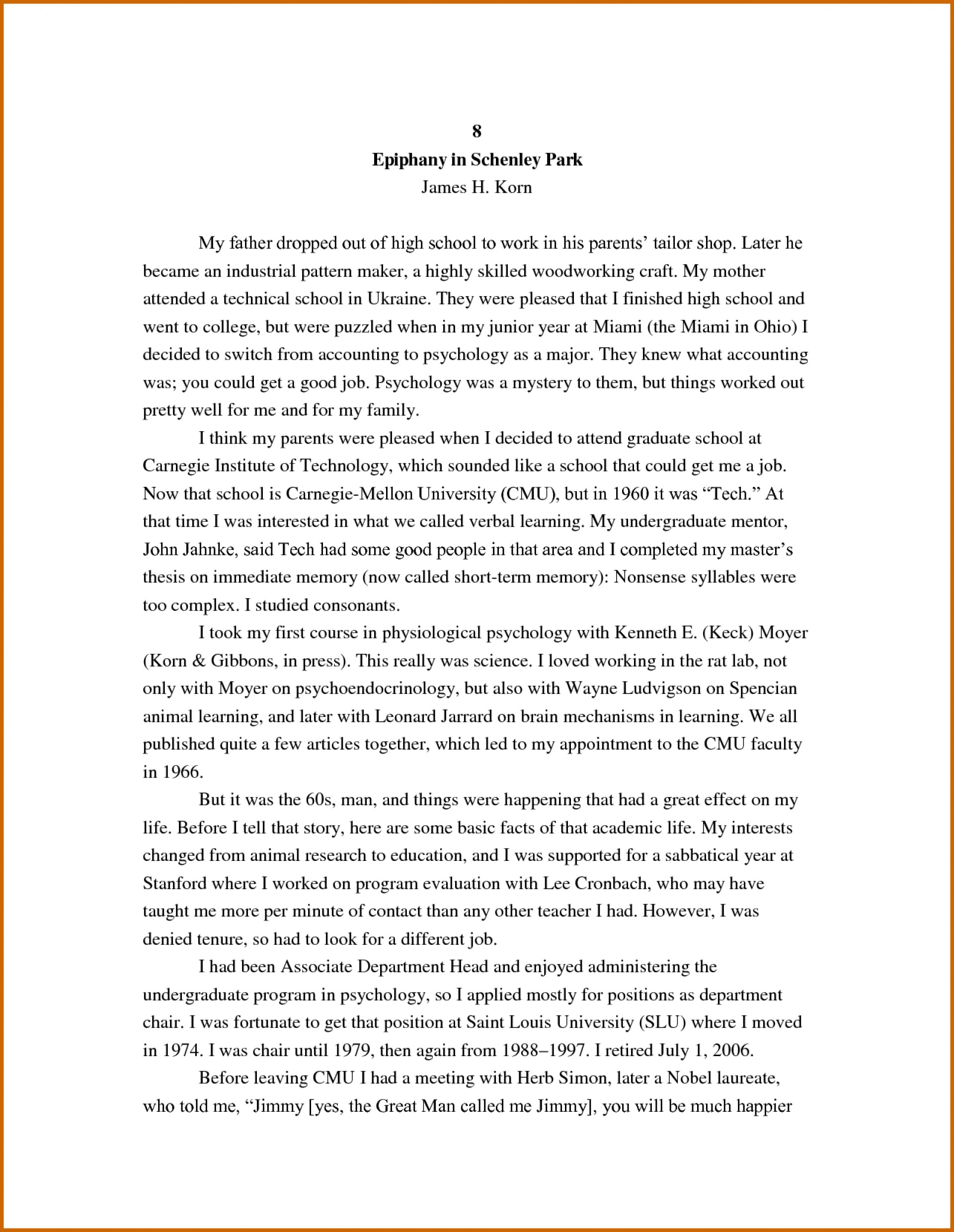 017 How To Write An Autobiographical Essay Autobiography For College Incredible Graduate School Example A Job 1920