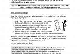 017 How To Write Reflective Essay Example On Academic Writing Work Exper Leadership At University In Third Person Teaching Course Experience Group Marvelous A Introduction Book Do You