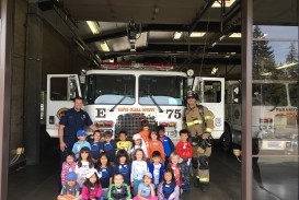 017 K Students Firestation Visit To Fire Station Essay Unusual