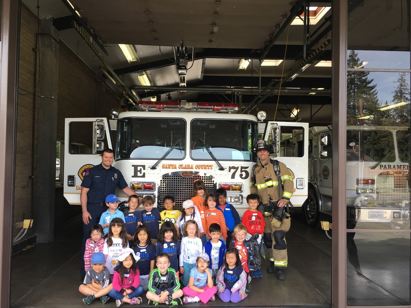 017 K Students Firestation Visit To Fire Station Essay Unusual Full