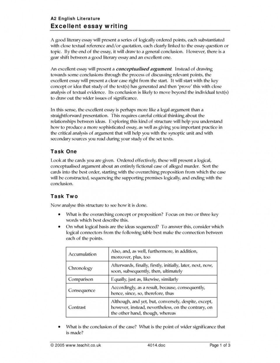001 Essay On Theme In Literature Homework Academic Writing
