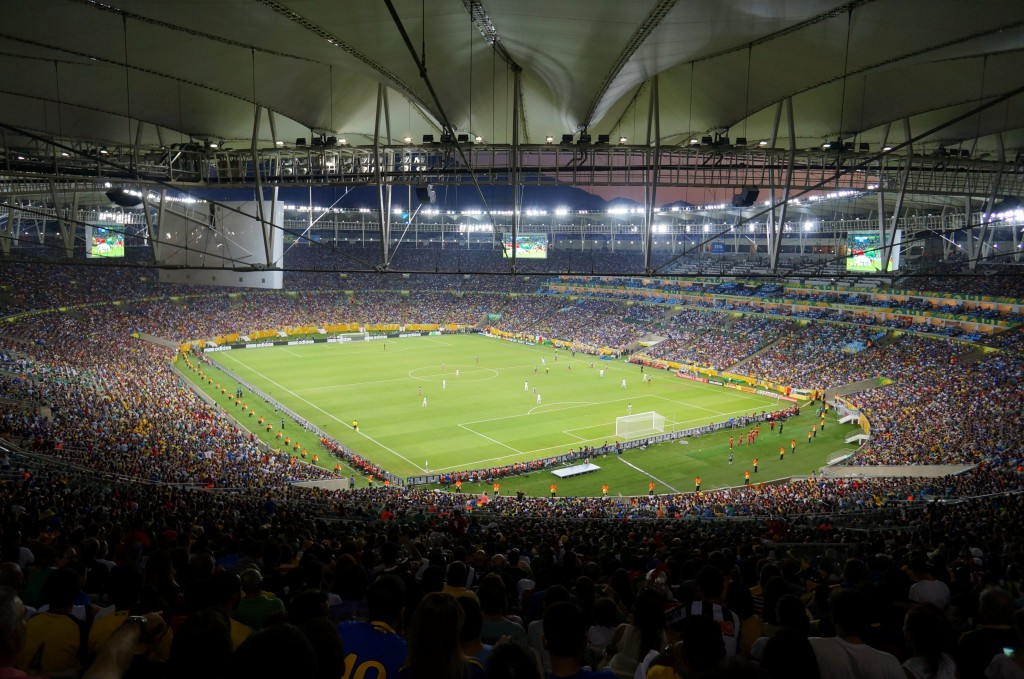 017 Maracanc3a3 Stadium Essay Example Soccer Vs Football Compare And Excellent Contrast Large