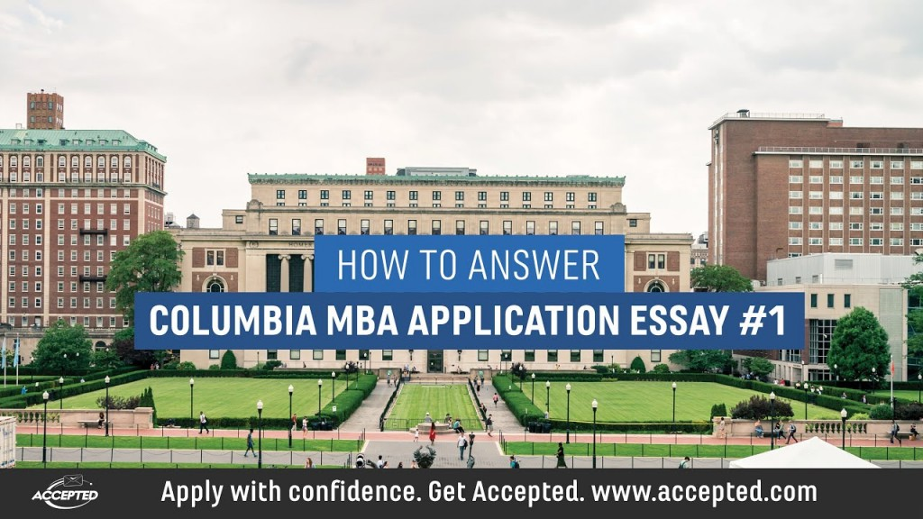 017 Maxresdefault Essay Example Columbia Astounding Mba Questions Analysis Formatting Large