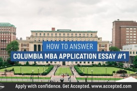 017 Maxresdefault Essay Example Columbia Astounding Mba Questions Analysis Formatting