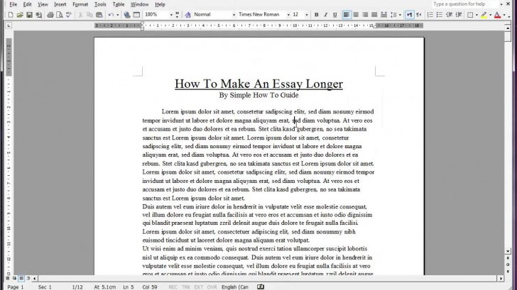 017 Maxresdefault Essay Example How To Make Look Exceptional Longer Period Your Trick An On Google Docs 728