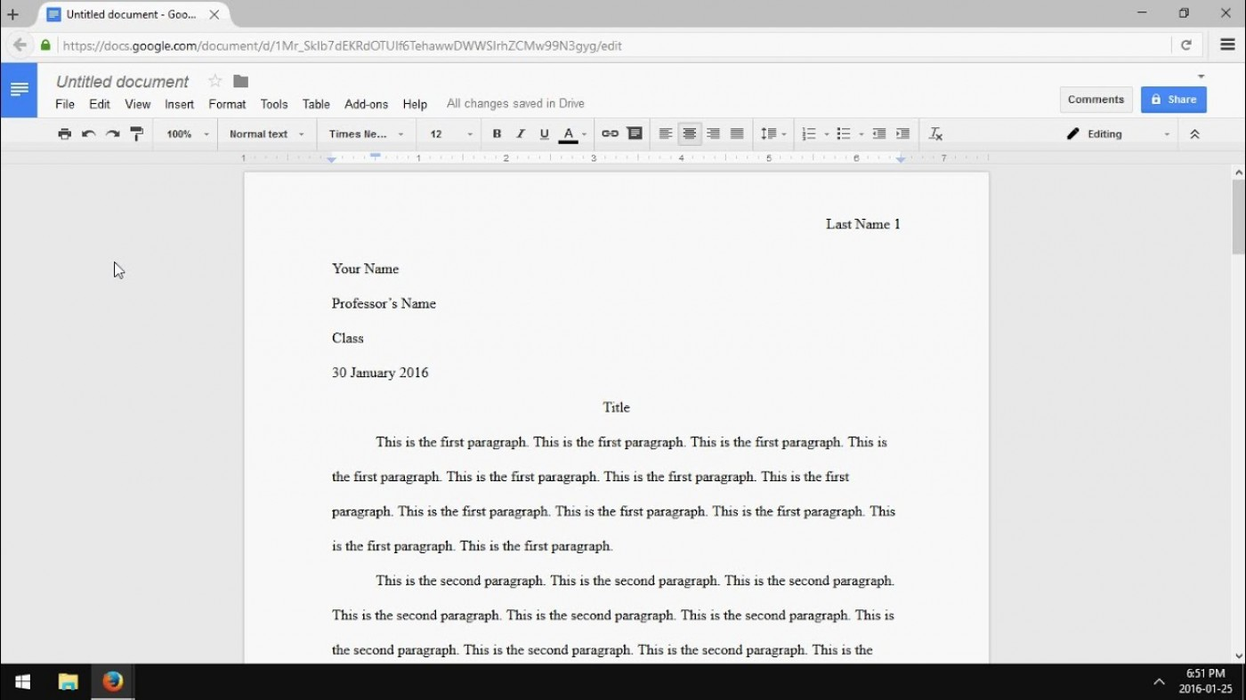 017 Maxresdefault Mla Essay Format Sensational Template Google Docs Sample 1400