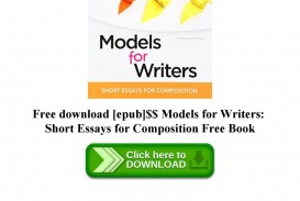 017 Page 1 Essay Example Models For Writers Short Essays Singular Composition 12th Edition Pdf 13th