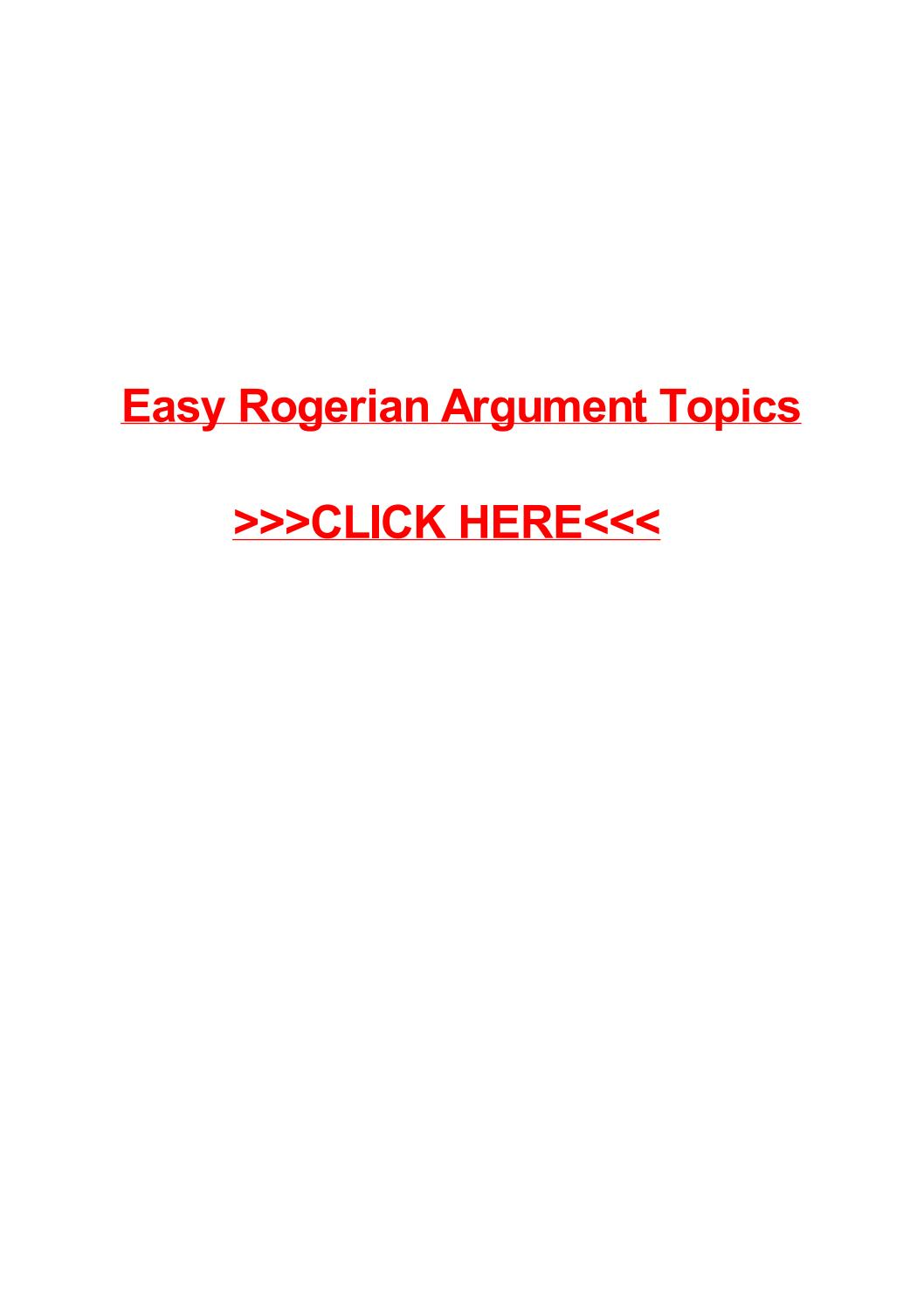 017 Page 1 Essay Example Rogerian Surprising Topics Paper Argument For College 2017 Full