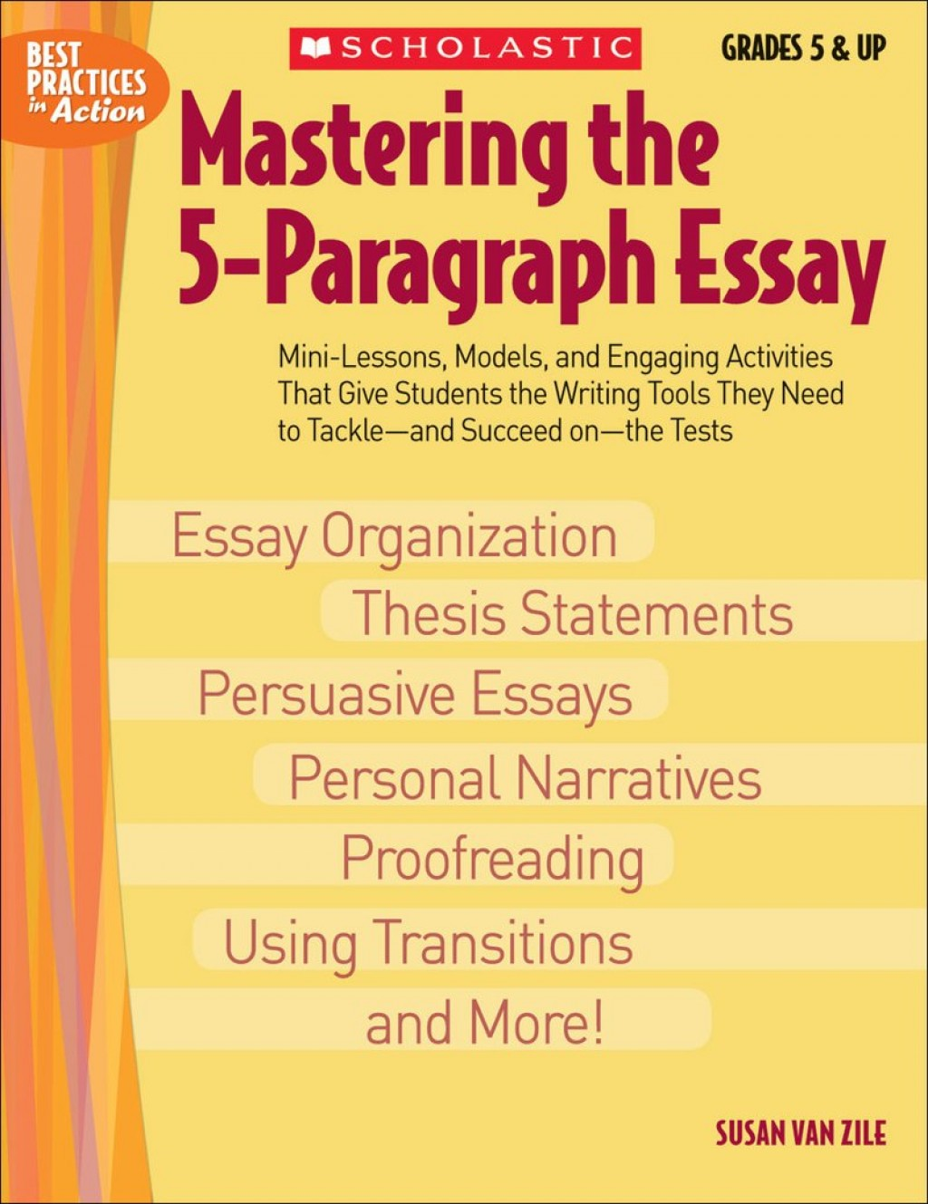017 Paragraph Essay Example 9780439635257 Mres Singular 5 Outline High School 6th Grade Topics For 5th Large