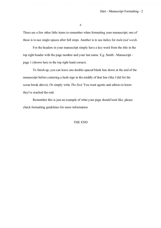 017 Proper Essay Heading How To Format Novel Manuscript Awesome Mla Writing 1920