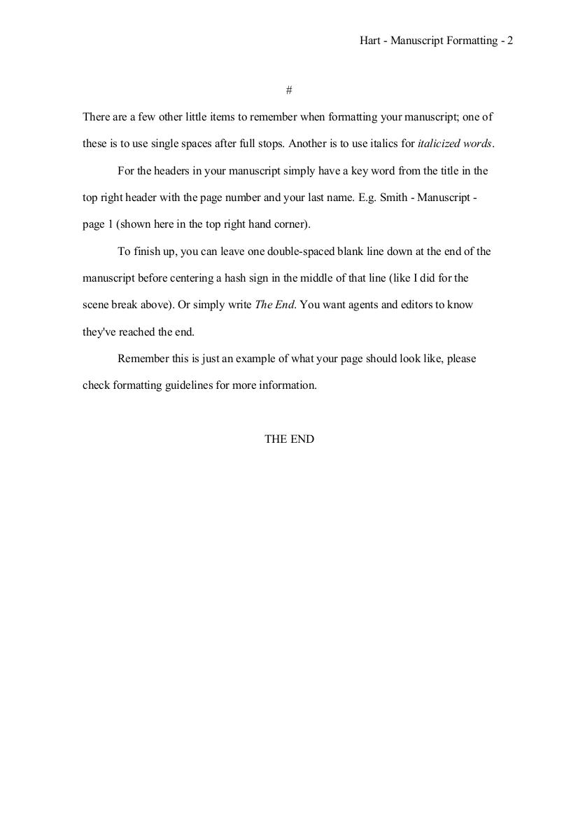 017 Proper Essay Heading How To Format Novel Manuscript Awesome Mla Writing Full