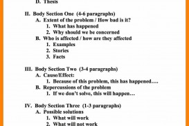 017 Proposal Essay Outline Outstanding Argument Research