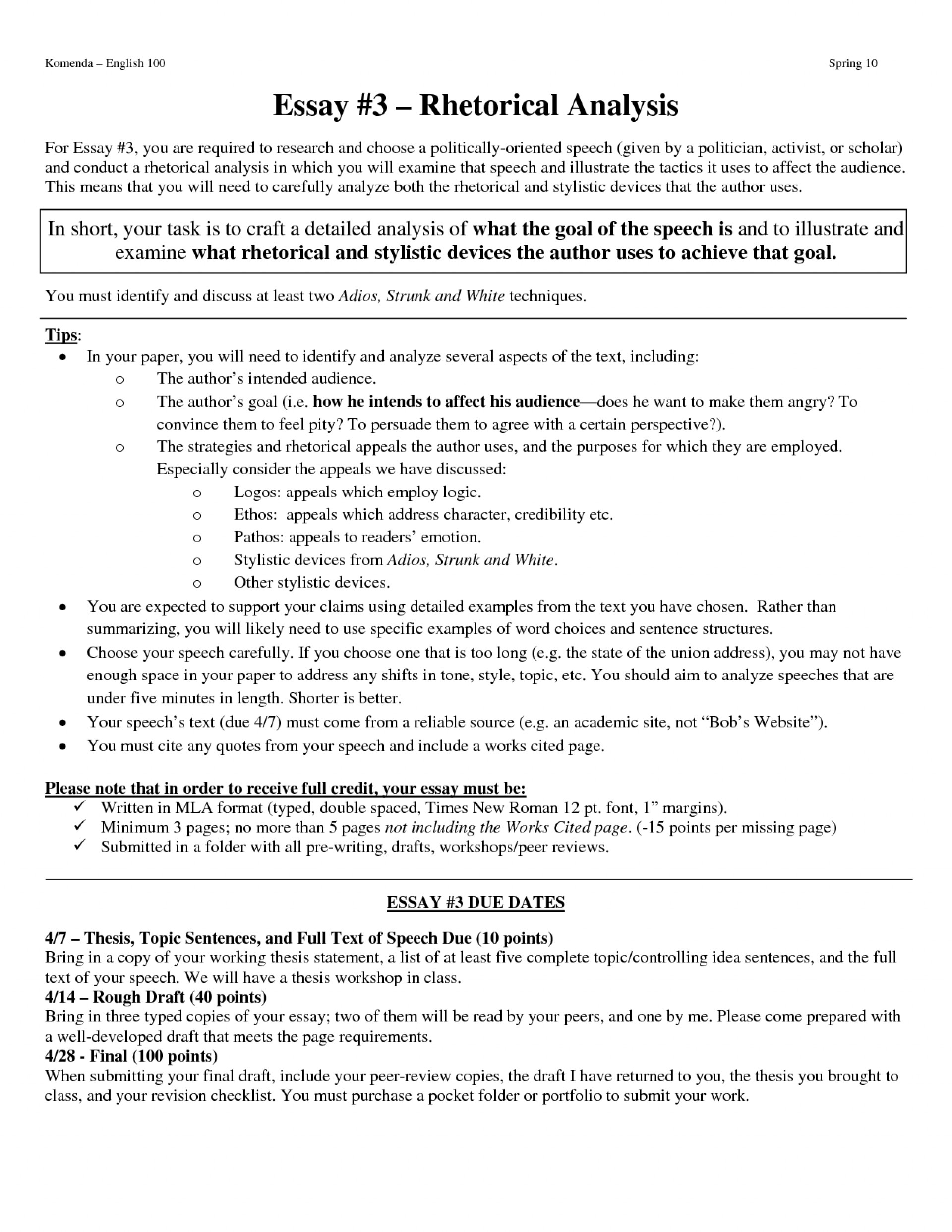 017 Rhetorical Essay Outline Analysis Writing How Write Pictureample The Best Format Sample Ap Visual Layout