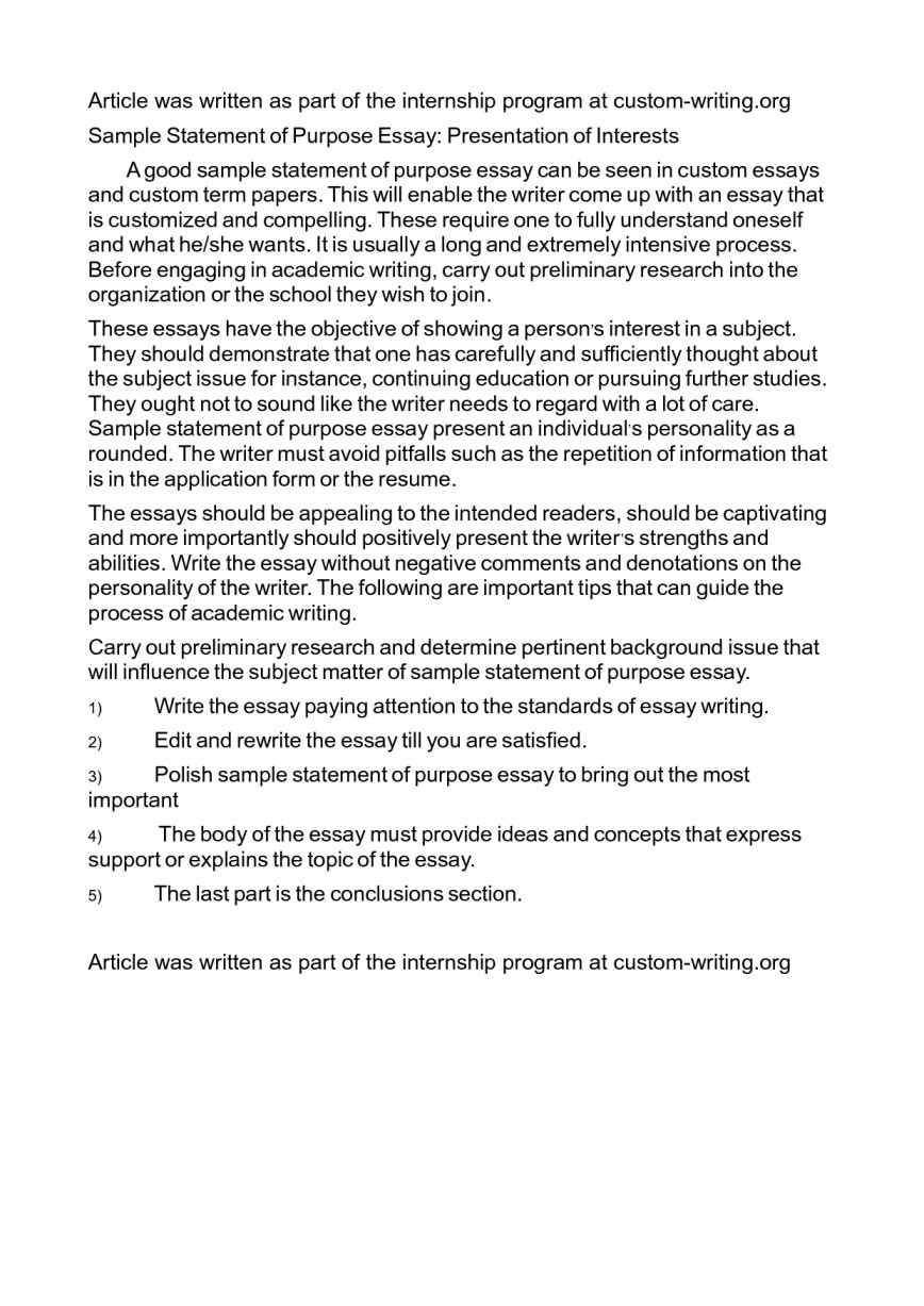 017 Sample Essay For Mba Personal Statement Essays Cover Of Purpose Example Interest Exe Striking An Analytical