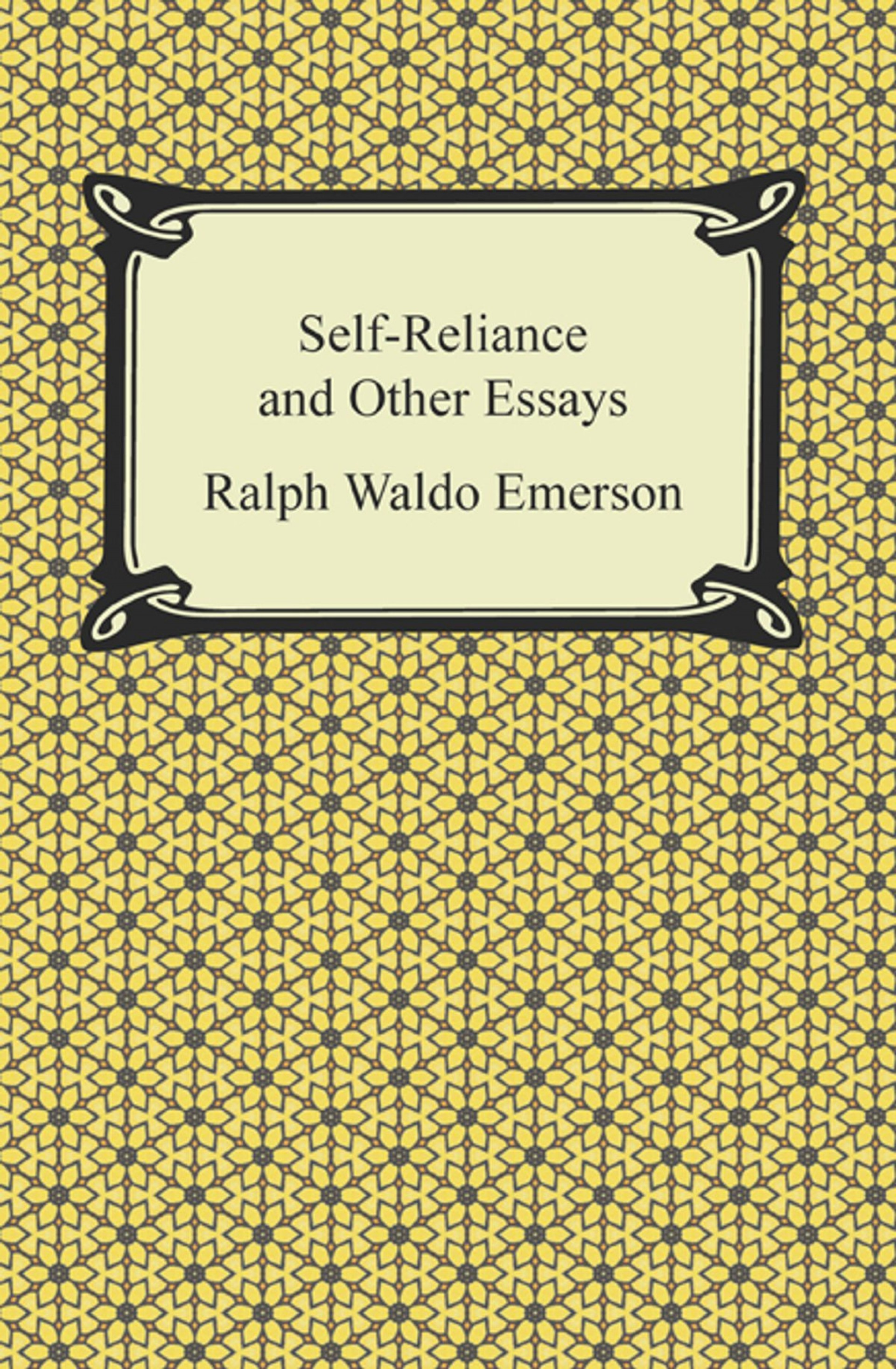 017 Self Reliance And Other Essays Essay Example Formidable Ekşi Self-reliance (dover Thrift Editions) Pdf Epub 1920