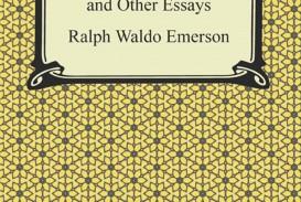 017 Self Reliance And Other Essays Essay Example Formidable Ralph Waldo Emerson Pdf Ekşi