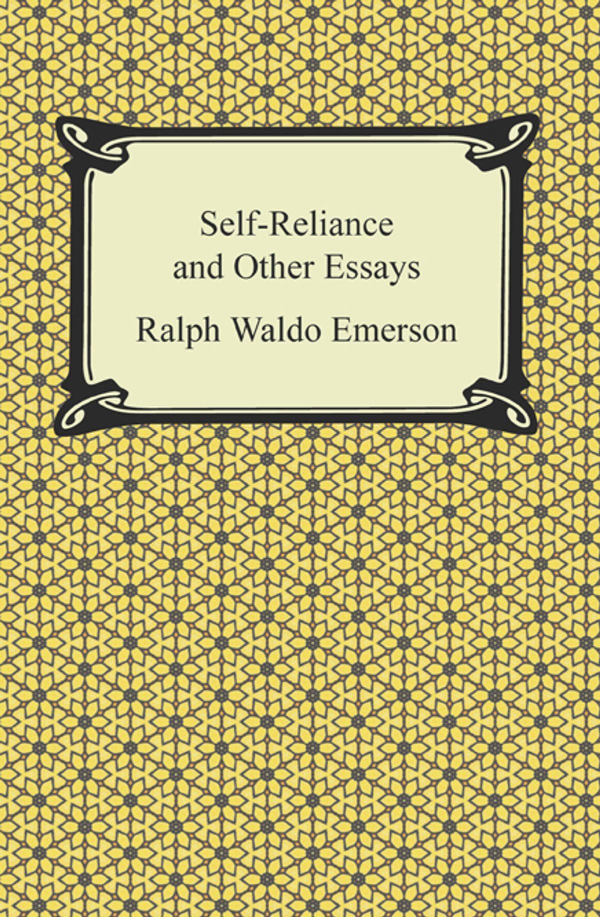 017 Self Reliance And Other Essays Essay Example Formidable Ralph Waldo Emerson Pdf Ekşi Full