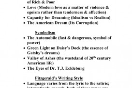 017 The Great Gatsby Themes Essay 008039513 1 Stirring Money Theme American Dream