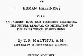 017 Thomas Malthus An Essay On The Principle Of Population Marvelous Summary Analysis Argued In His (1798) That