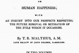 017 Thomas Malthus Essay On The Principle Of Population Stupendous After Reading Malthus's Principles Darwin Got Idea That Ap Euro