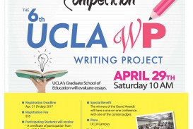 017 Uclakoreandaily Flyer Essay Contest Middle School Breathtaking Competition For Creative Writing Curriculum Online High Students