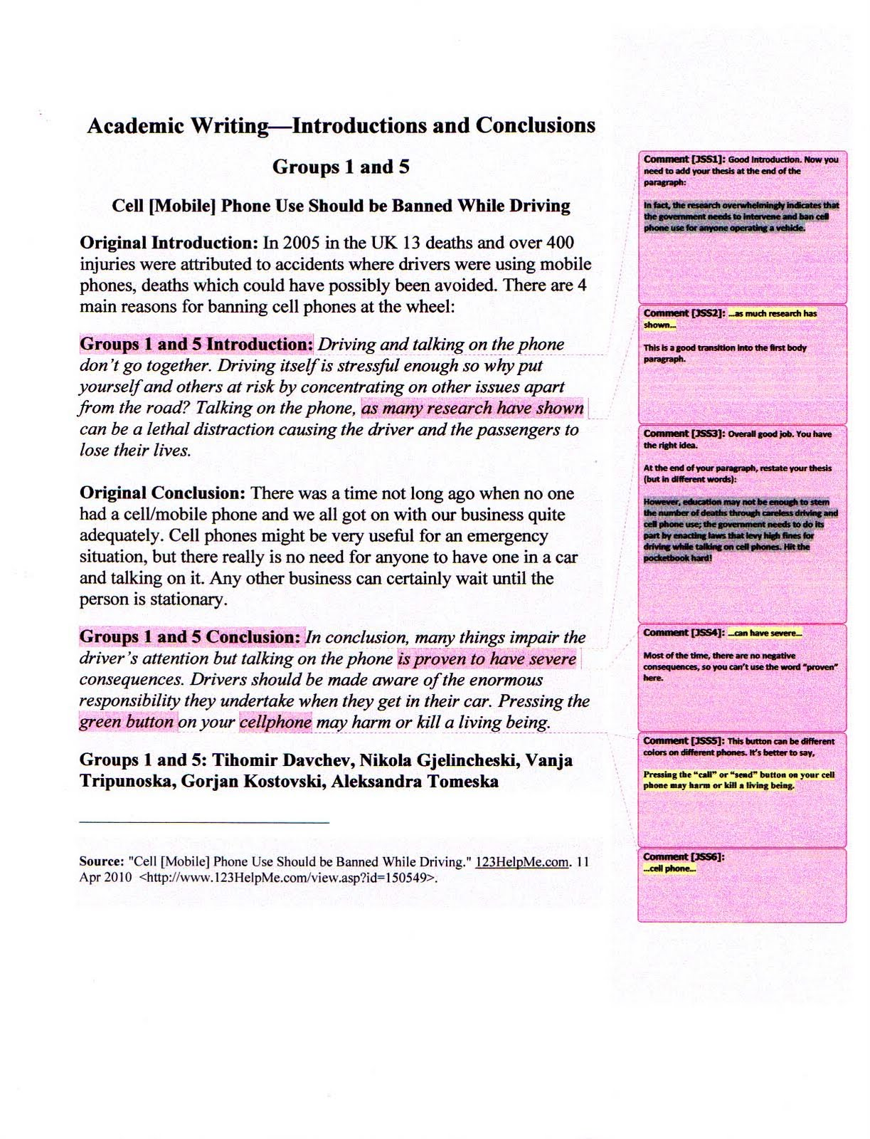 How to Write the Georgetown University Essays