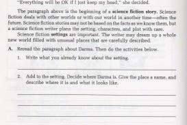 017 Writing Science Fiction Story Descriptive Essay Thesis Rare Statement Generator Pdf