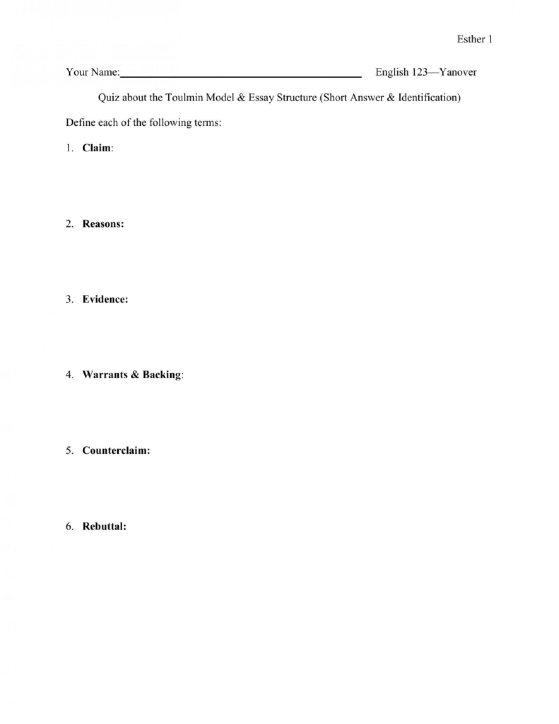 018 009570885 1 Toulmin Essay Striking Method Outline 1920