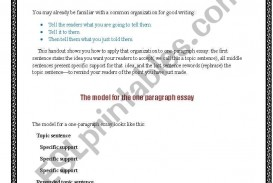 018 160445 1 Writing One Paragraph Essay Awesome About Dwarfism Topics