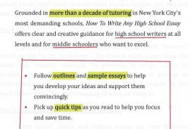 018 71baet3vxyl Essay Example How To Write High Fantastic A School History For Admission